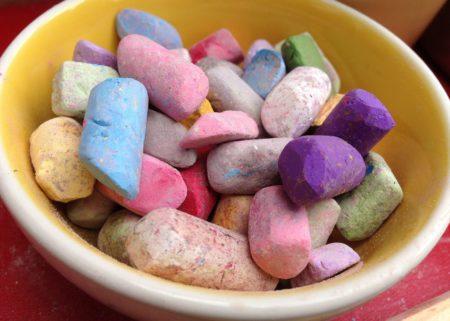 Chalk in Bowl