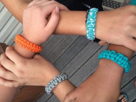 hands teen bracelets
