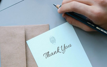 A Call to Pastors: Keep Writing Thank You Notes
