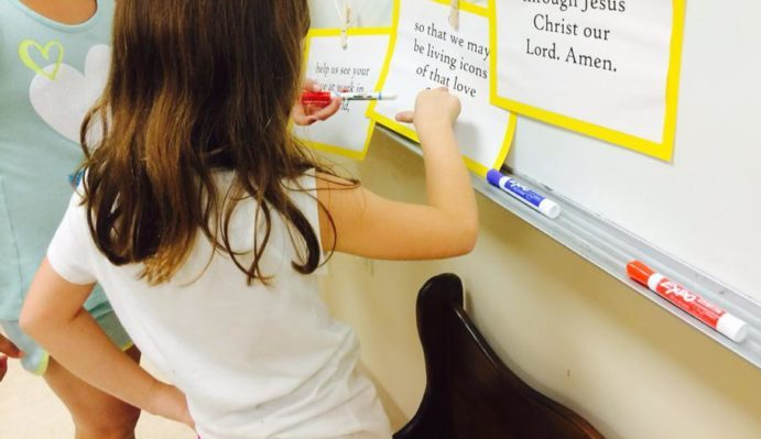 Clothesline Collects: Leading Children to Prayer