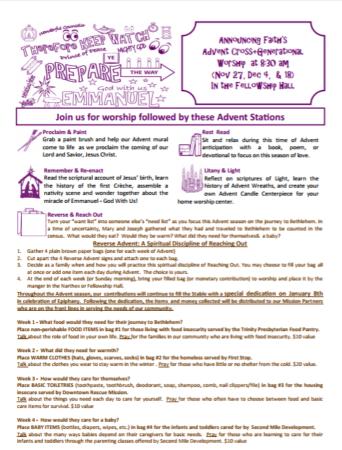 interactive worship stations