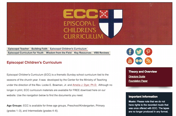 Navigating the Episcopal Children's Curriculum Online