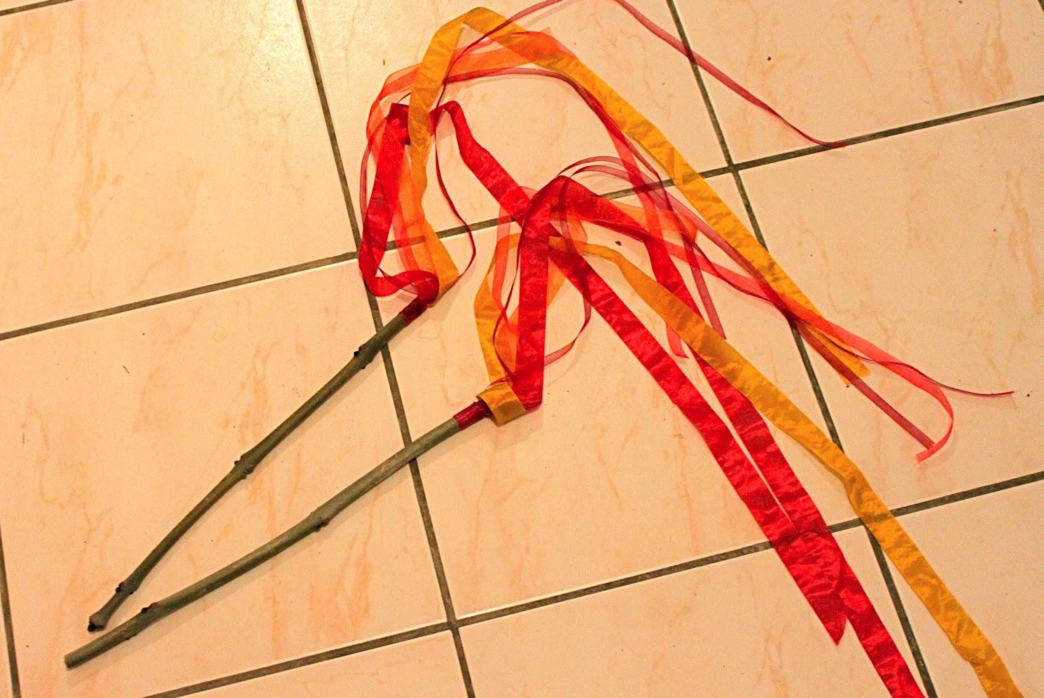 Pentecost Fire Sticks