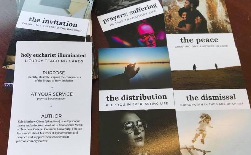 Illuminated Cards to Teach the Liturgy