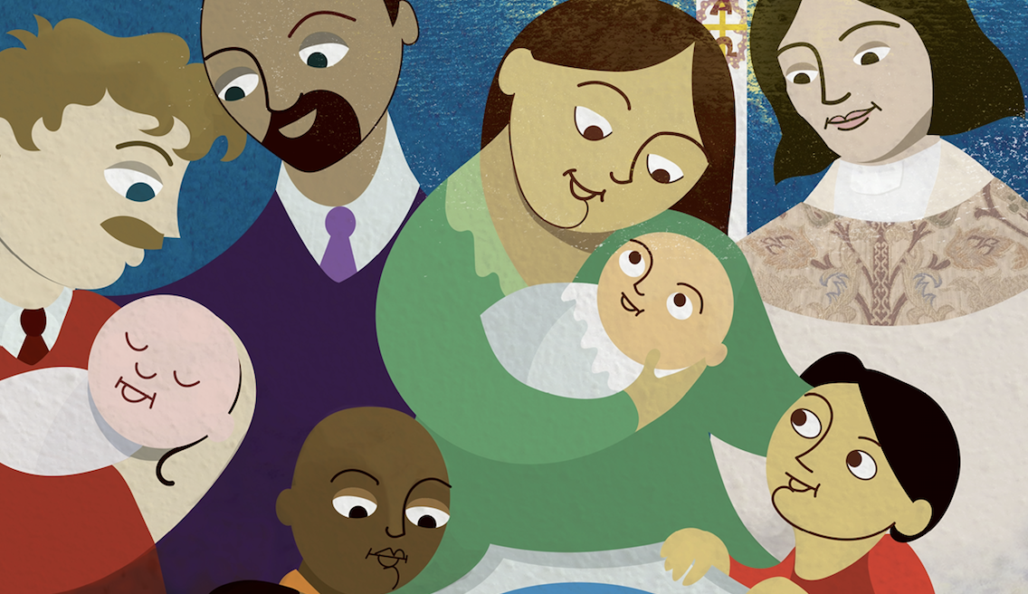 Explore Baptism with Children Through Storytelling and Picture Books