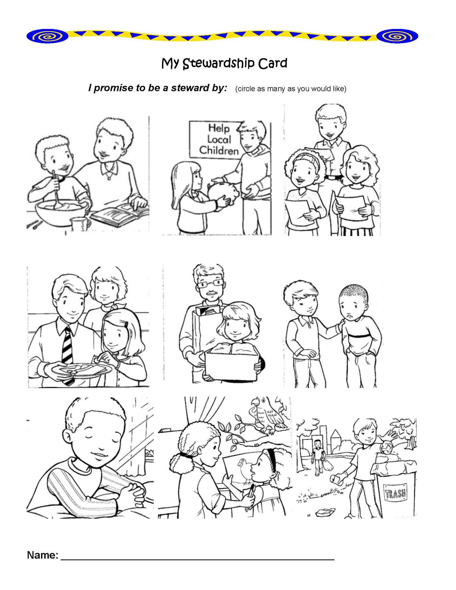 Sharing Stewardship With Children border=