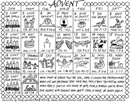 Free Family-Friendly Resources for Advent