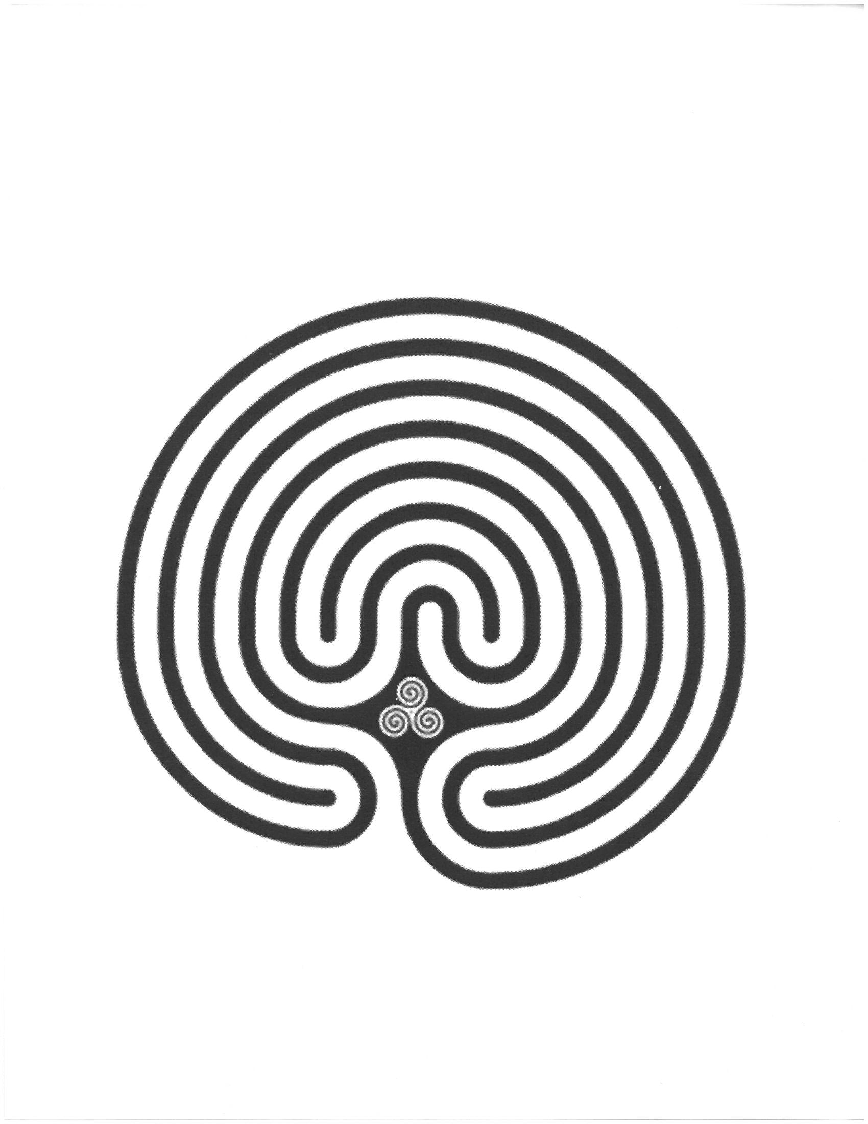 photograph about Finger Labyrinth Printable named A Finger Labyrinth Challenge For All Ages