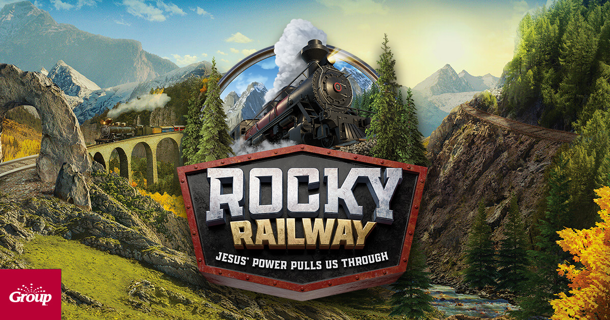 Group Publishing: Rocky Railway: Jesus' Power Pulls Us Through
